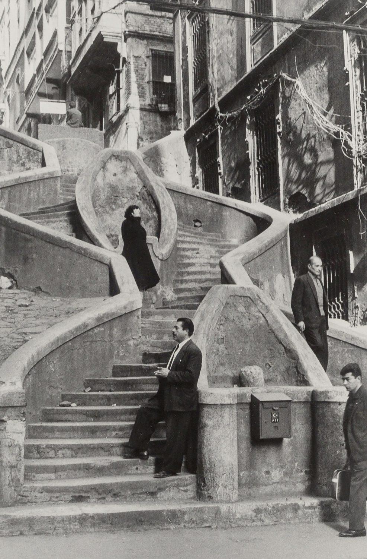 Camondo Steps, Galata, Istanbul, Turkey