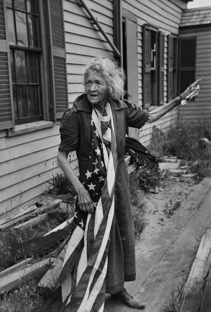 Cape Cod Woman on the Fourth of July, Massachussetts