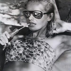 Fashion shoot for British Magazine (Model wearing sarong)
