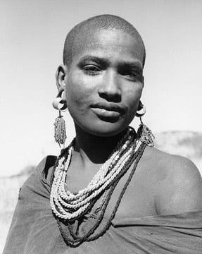 Maasai Woman, Tanazania
