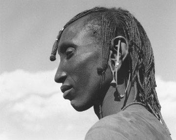 Massai Man, Tanzania