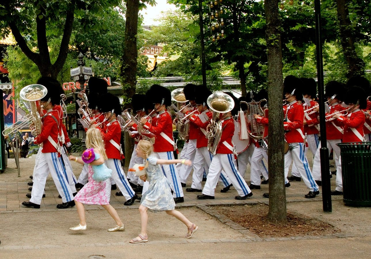 Tivoli Marching Band, Copenhagen