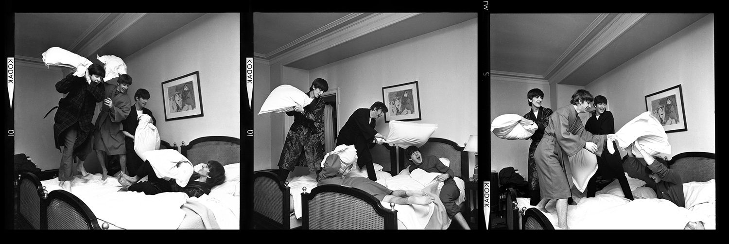 The Beatles - Pillow Fight x3