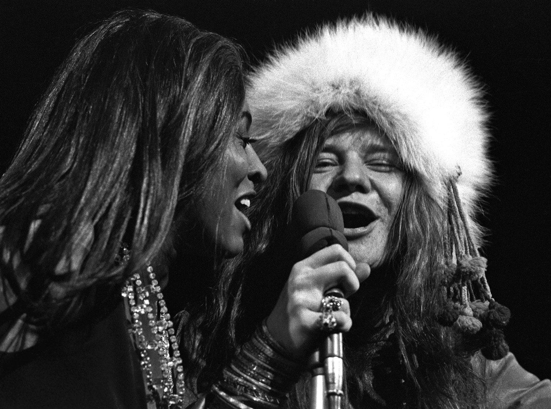 Tina Turner & Janis Joplin, MSG, NY