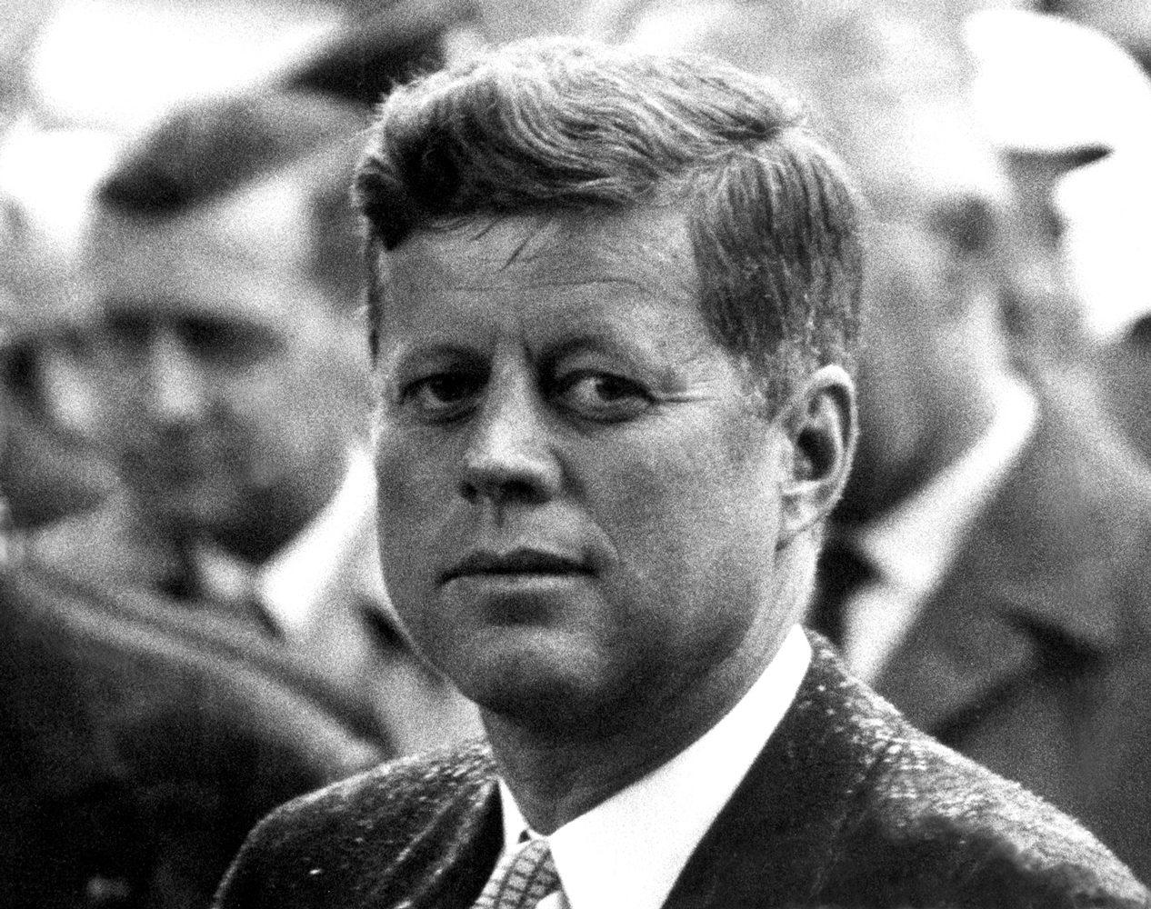 President John F. Kennedy Portrait, Paris