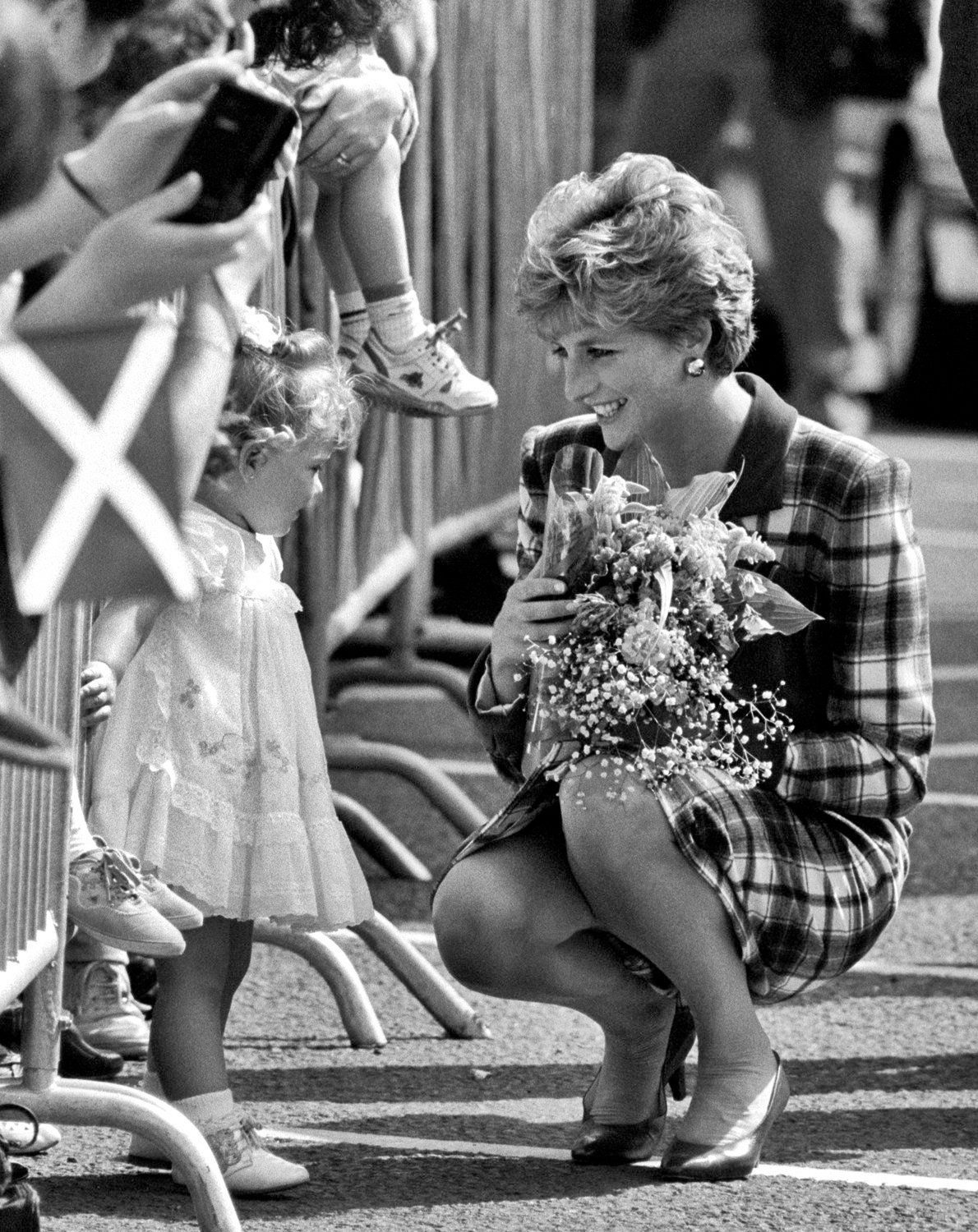 Princess Diana, Glasgow