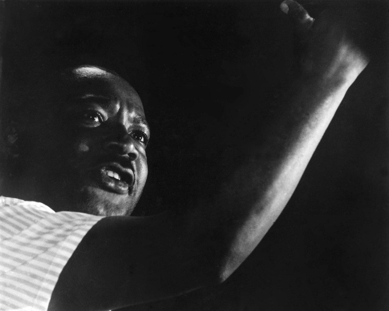 Martin Luther King, Jr. Portrait, Canton Mississippi