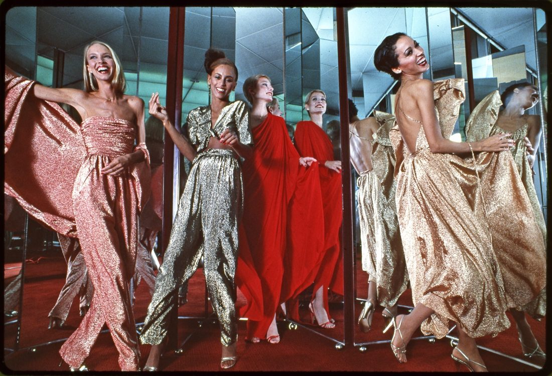 Halston Four Models