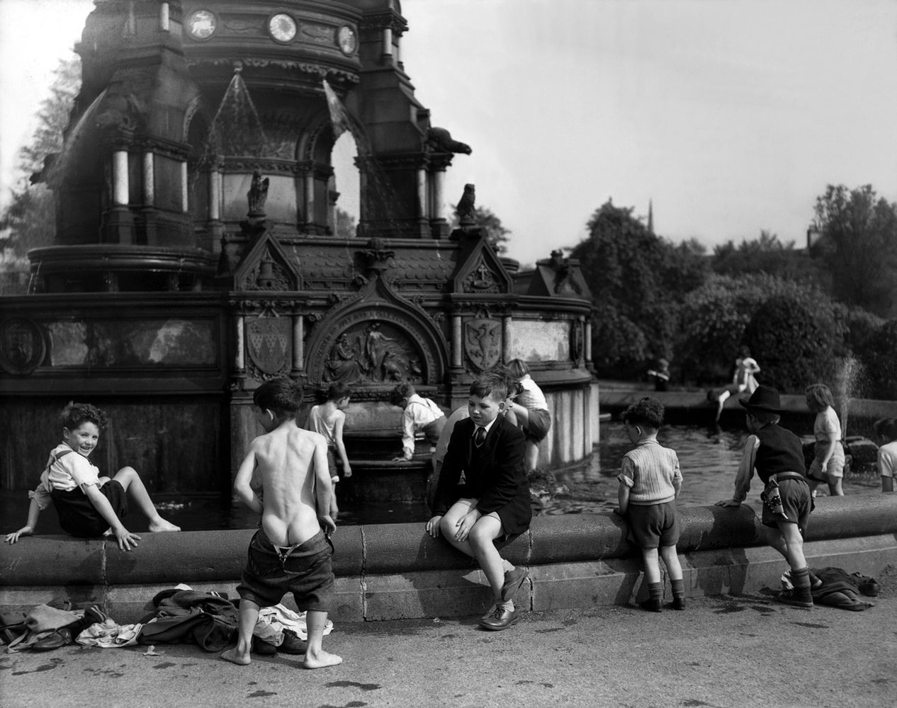 Glasgow Boys in Fountain
