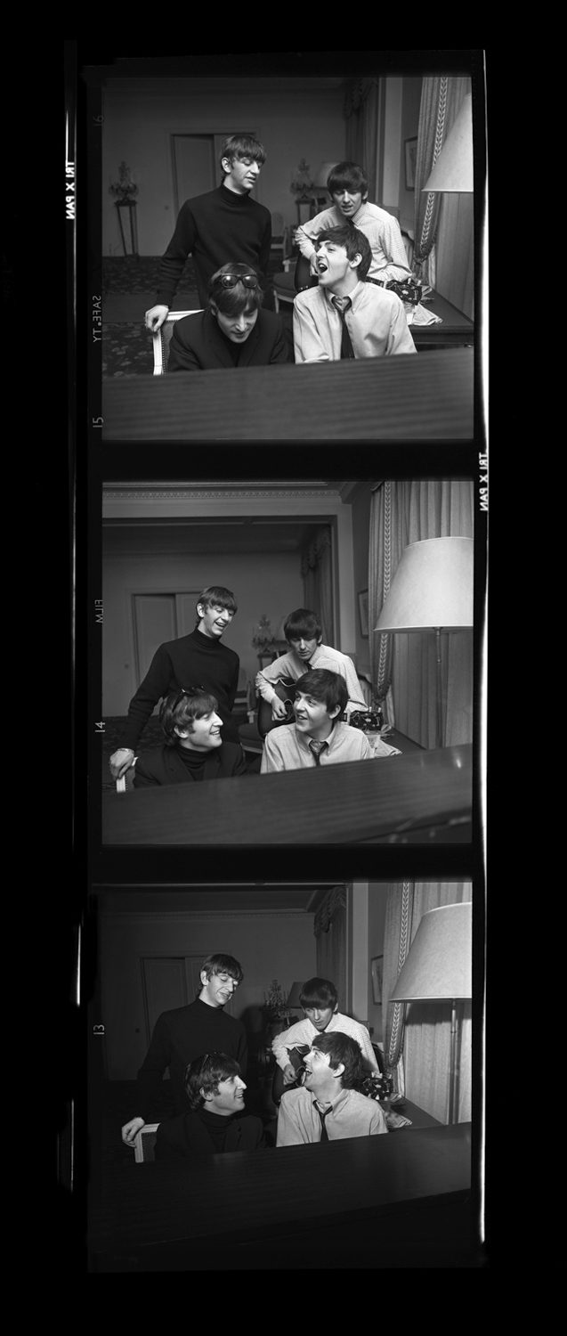 Beatles Composing, Paris (Times Three)