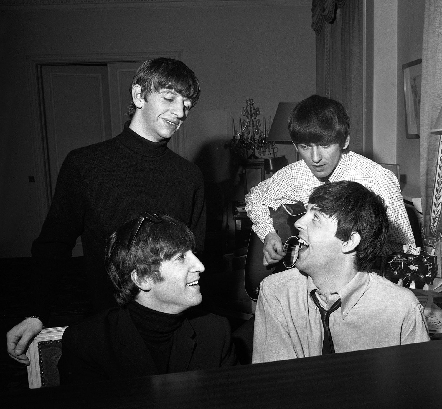 Beatles Composing #2, Paris