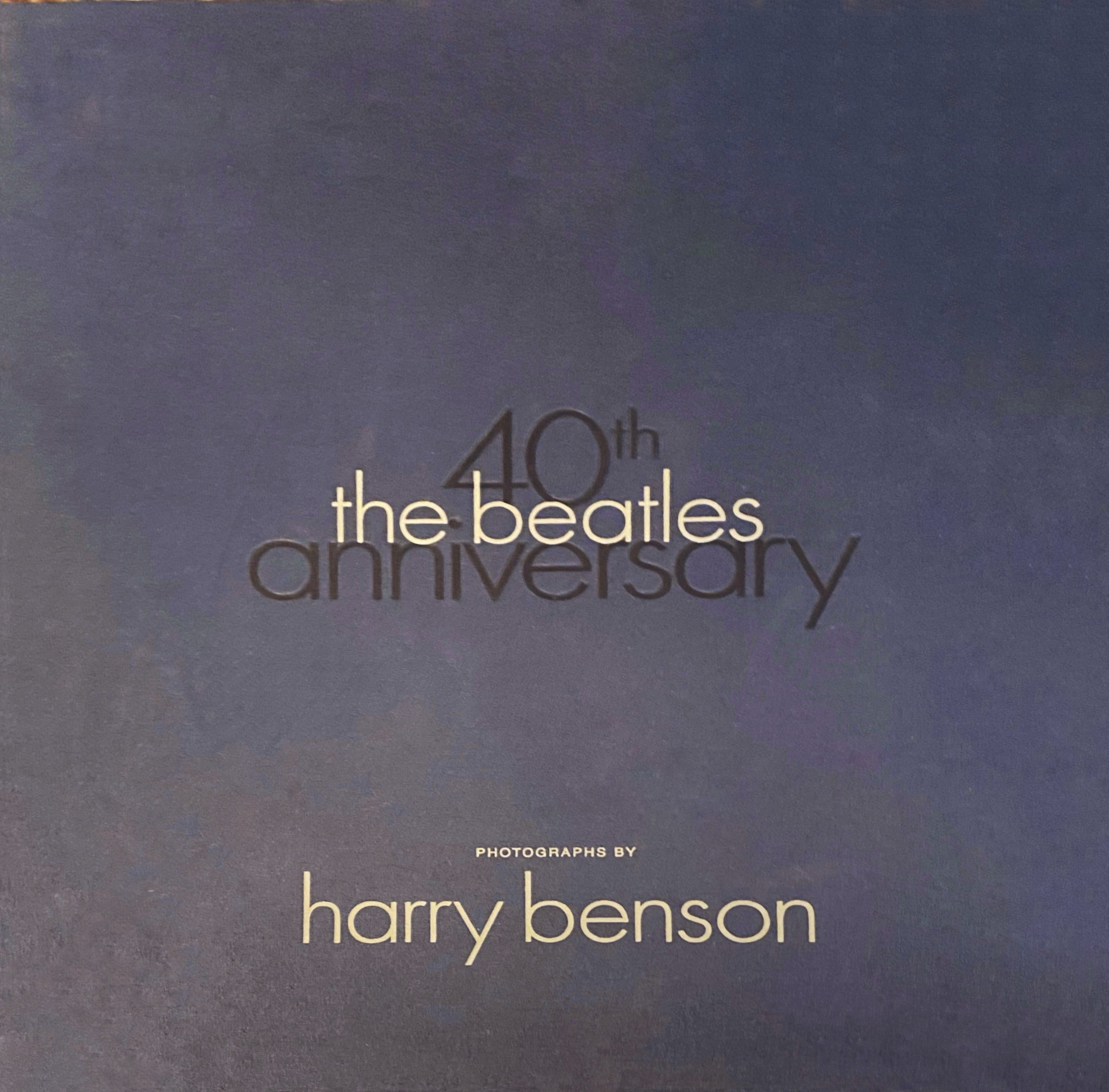 Beatles 40th Anniversary Portfolio
