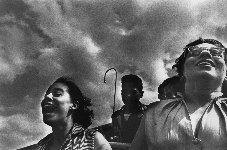 Girls Riding the Cyclone, Coney Island