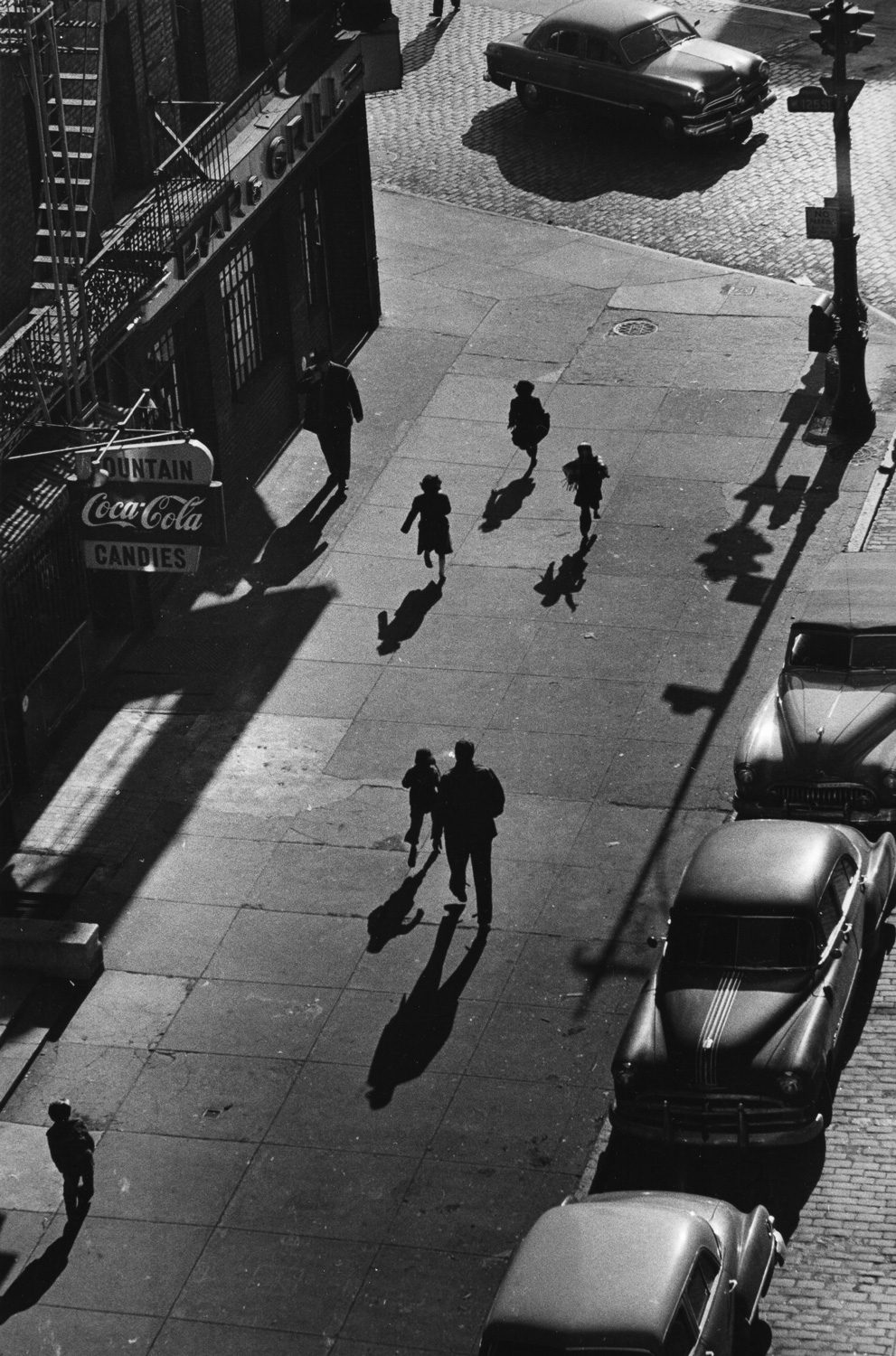 125th Street from Elevated Train, NYC