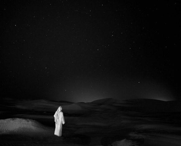Self Portrait in the Arabian Empty Quarter