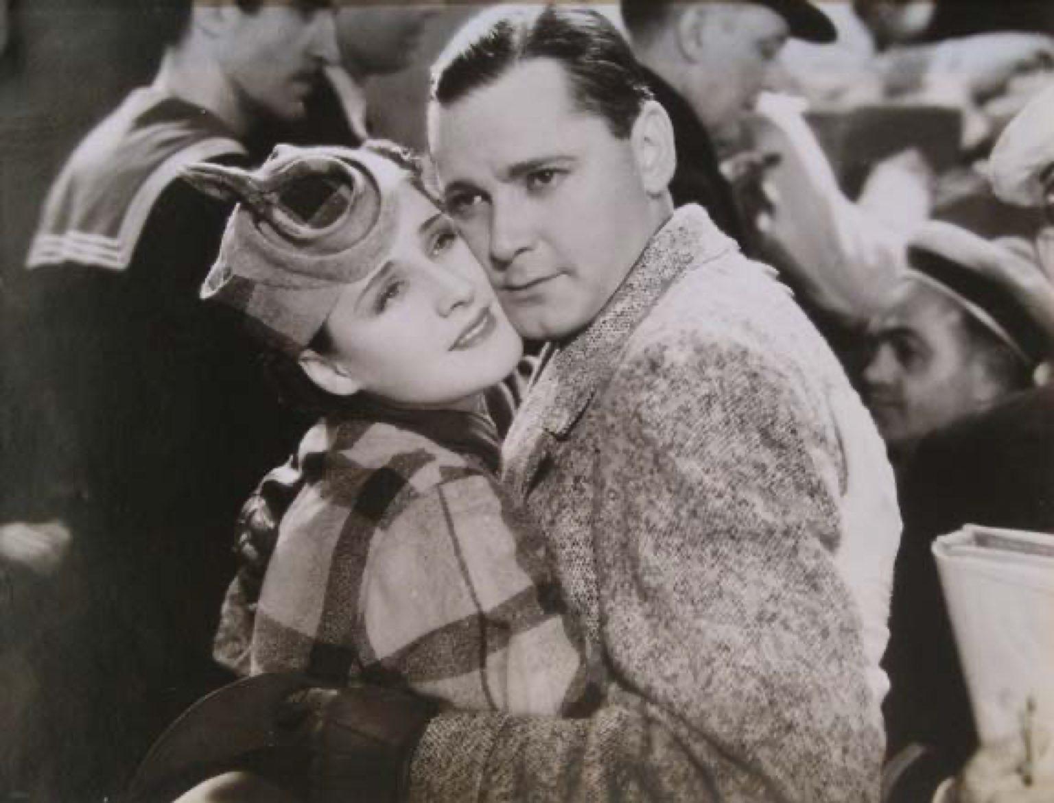 Norma Shearer and Herbert Marshall, Riptide