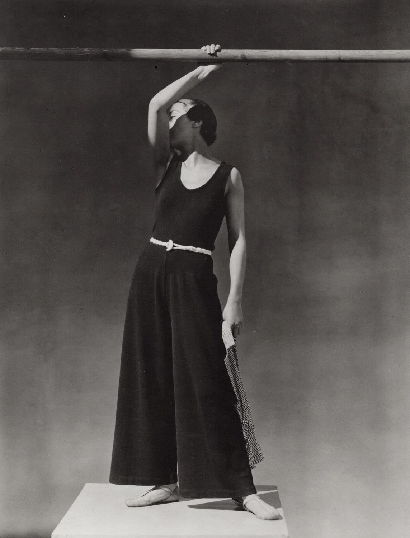 Back pantsuit beachwear, Schiaparelli