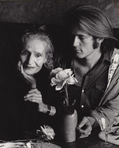 Consuelo Cloos and friend Thomas Cushing