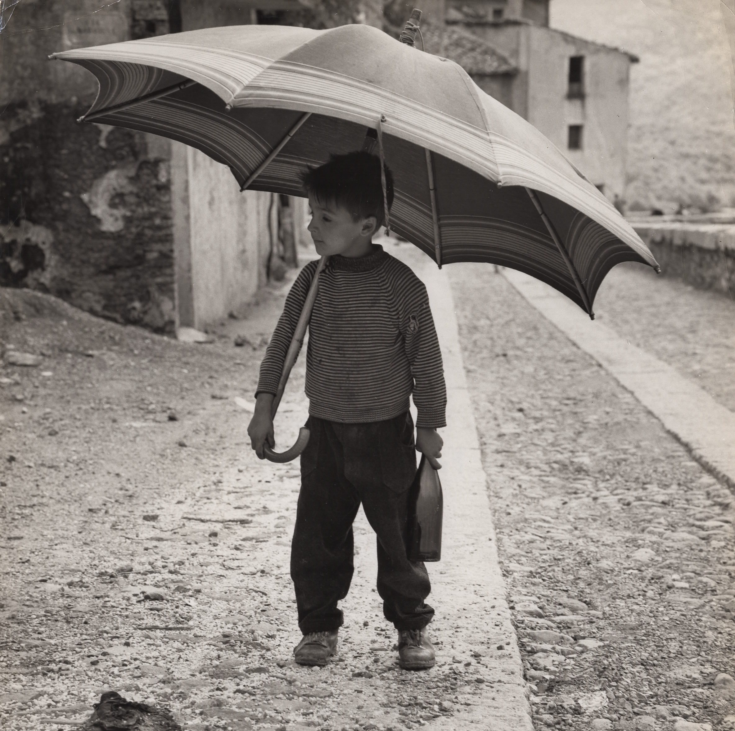 Sardinia - Little Boy Going to the Tavern for his Father's Wine