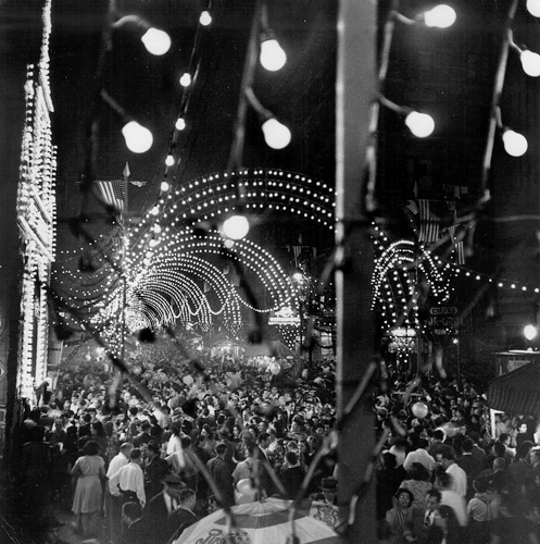 New York City, Festival of the Madonna, Mulberry Street