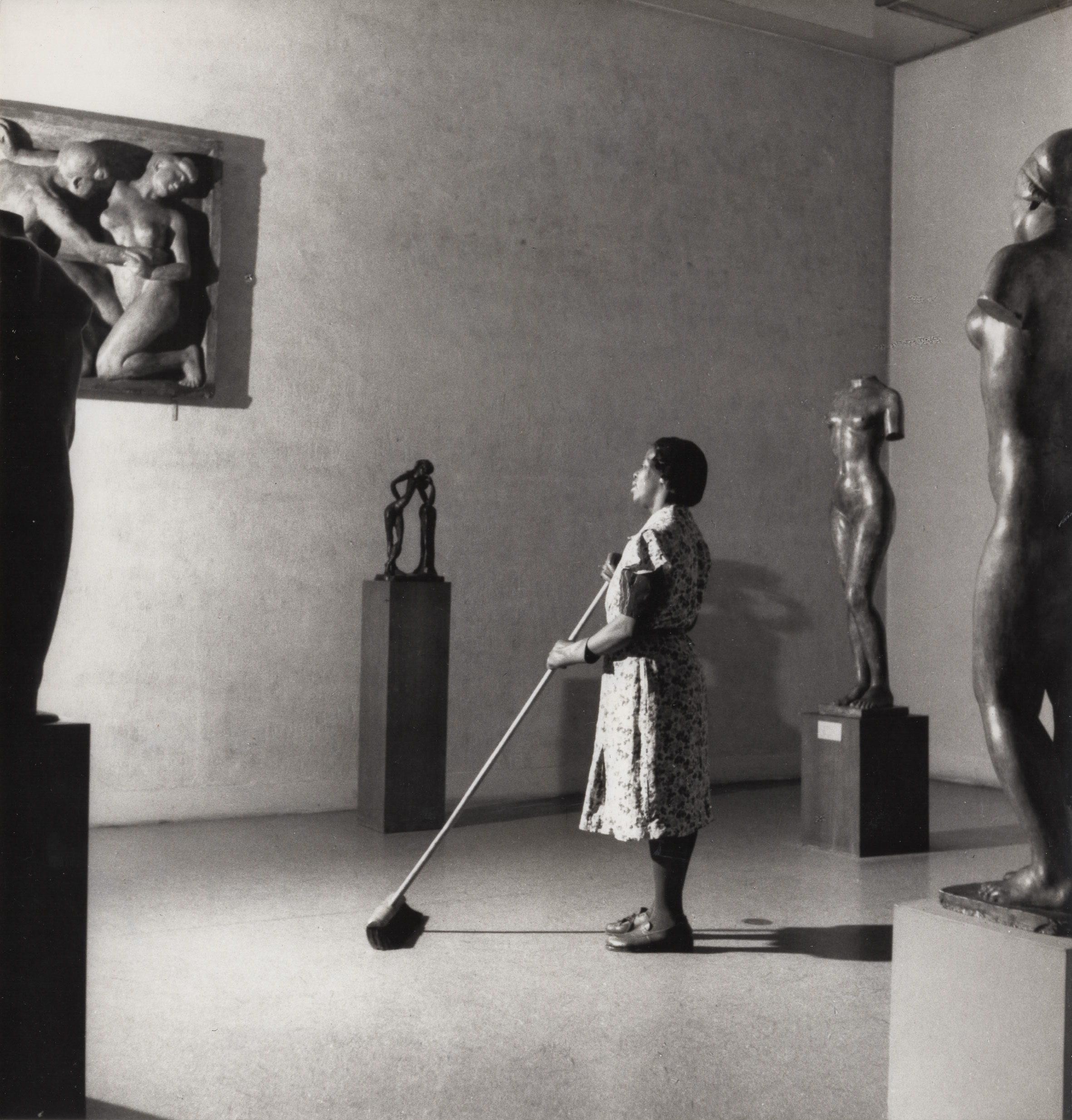 Night in the Museum of Modern Art, New York