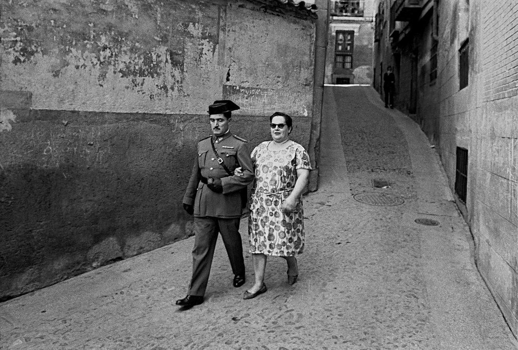 Toledo Guardia Civil and Wife
