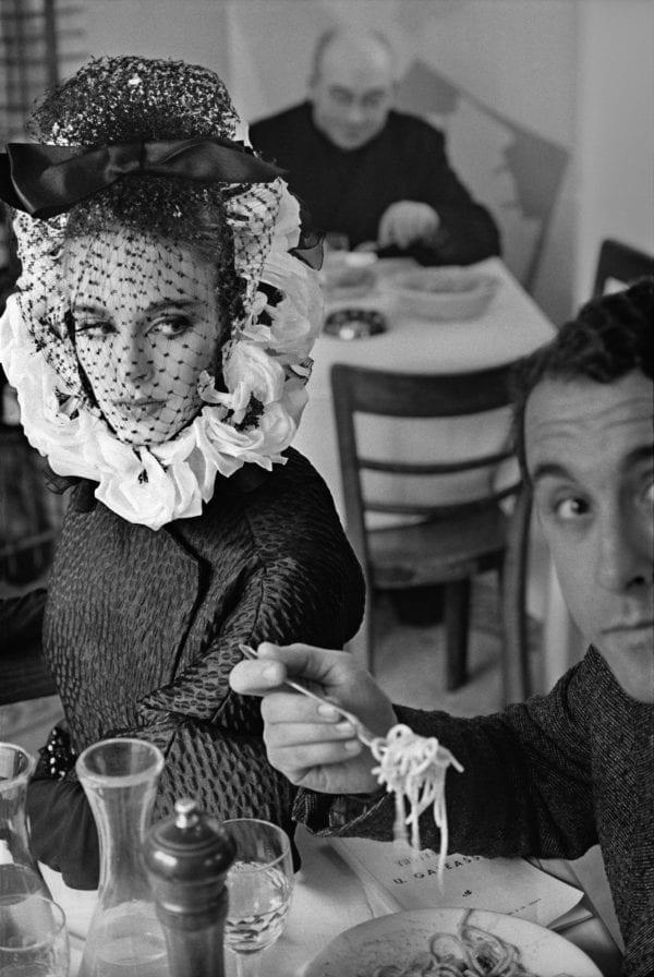 Rome Spaghetti (with Model Debora Dixon, for Harper's Bazaar)