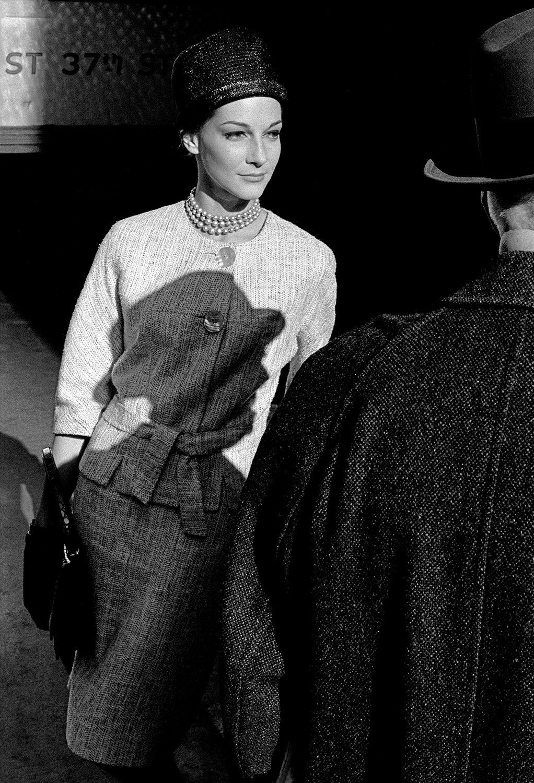 Model in New York, Harper's Bazaar B (with shadow)