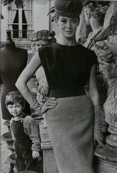 Jardin des Modes, Model avec Michel