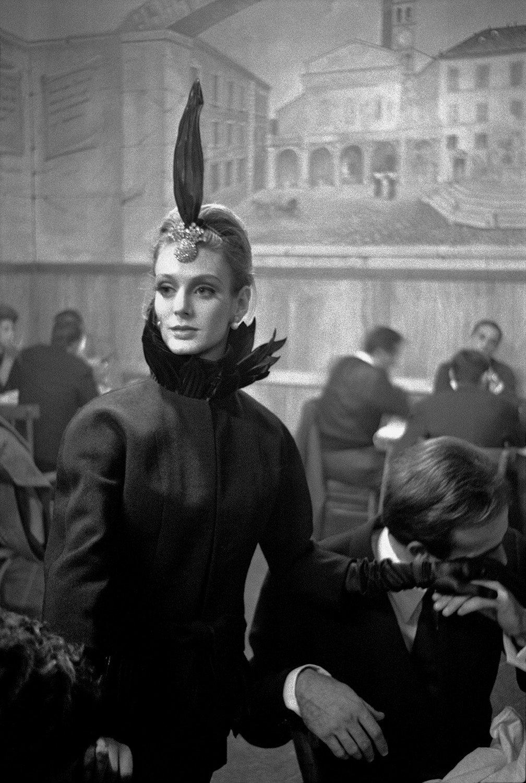 Harper's Bazaar, Rome Collections O (Debora Dixon in trattoria)