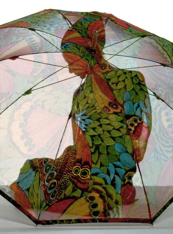 Harper's Bazaar cover (Umbrella color)
