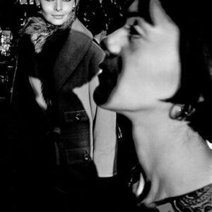 Harper's Bazaar, Paris Collection (Iris Bianchi, Carol Lobravico, in profile)