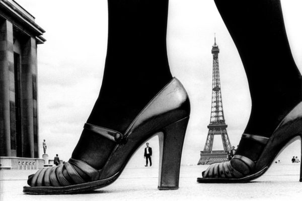 For Stern, Shoe and Eiffel Tower (A), Paris, France
