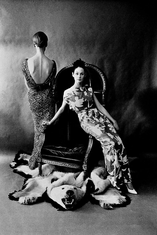 British Vogue, H (2 models front & Back)
