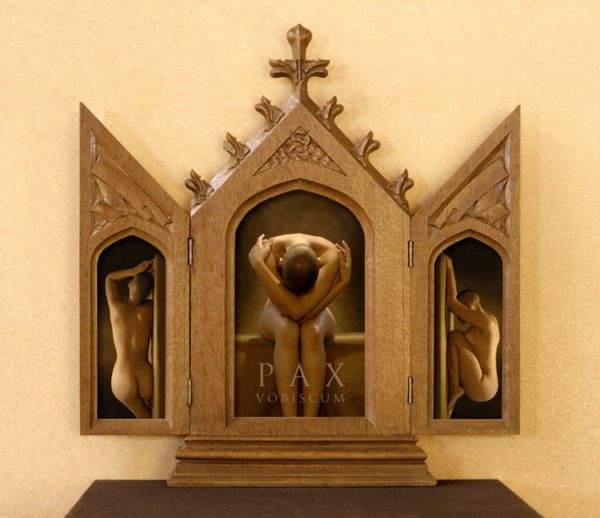 Pax Vobiscum (Peace Be with You) Triptych