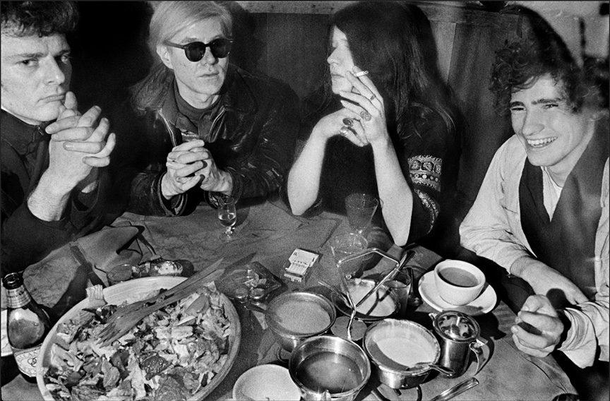 Paul Morrissey, Andy Warhol, Janis Joplin, TIm Buckley, Max's Kansas City, NYC