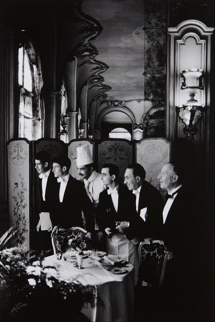 Paris, France 1969 (Waiters and Chef Hotel Ritz)