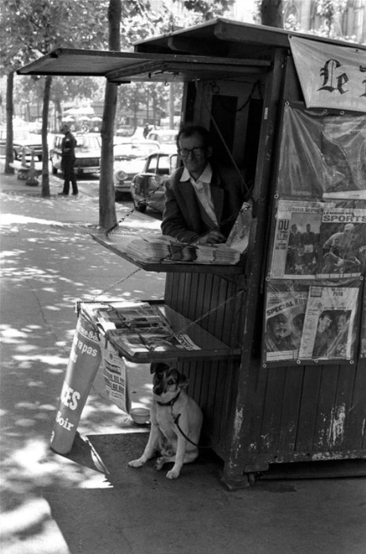 Paris, France (newspaper stand)