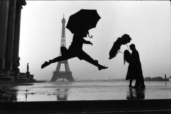 Paris, France (umbrella jump)