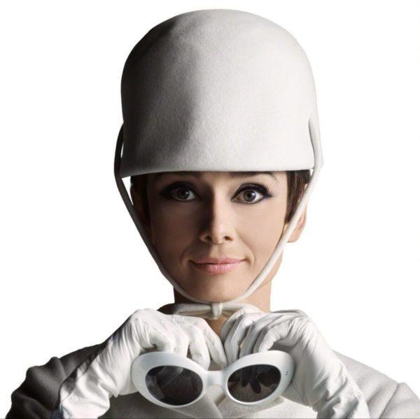 Audrey Hepburn with Hat