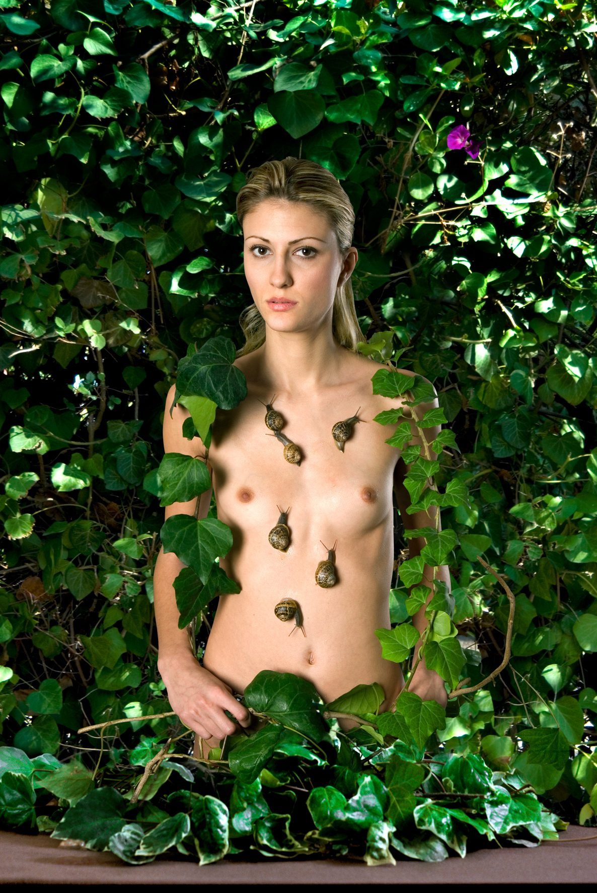 Untitled, For a Definition of The Nude Series (Woman w/ Snails)