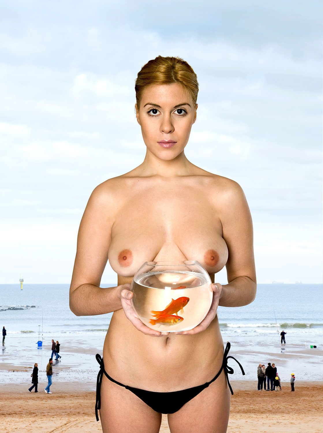 Untitled, For a Definition of The Nude Series (Woman w/ Goldfish)