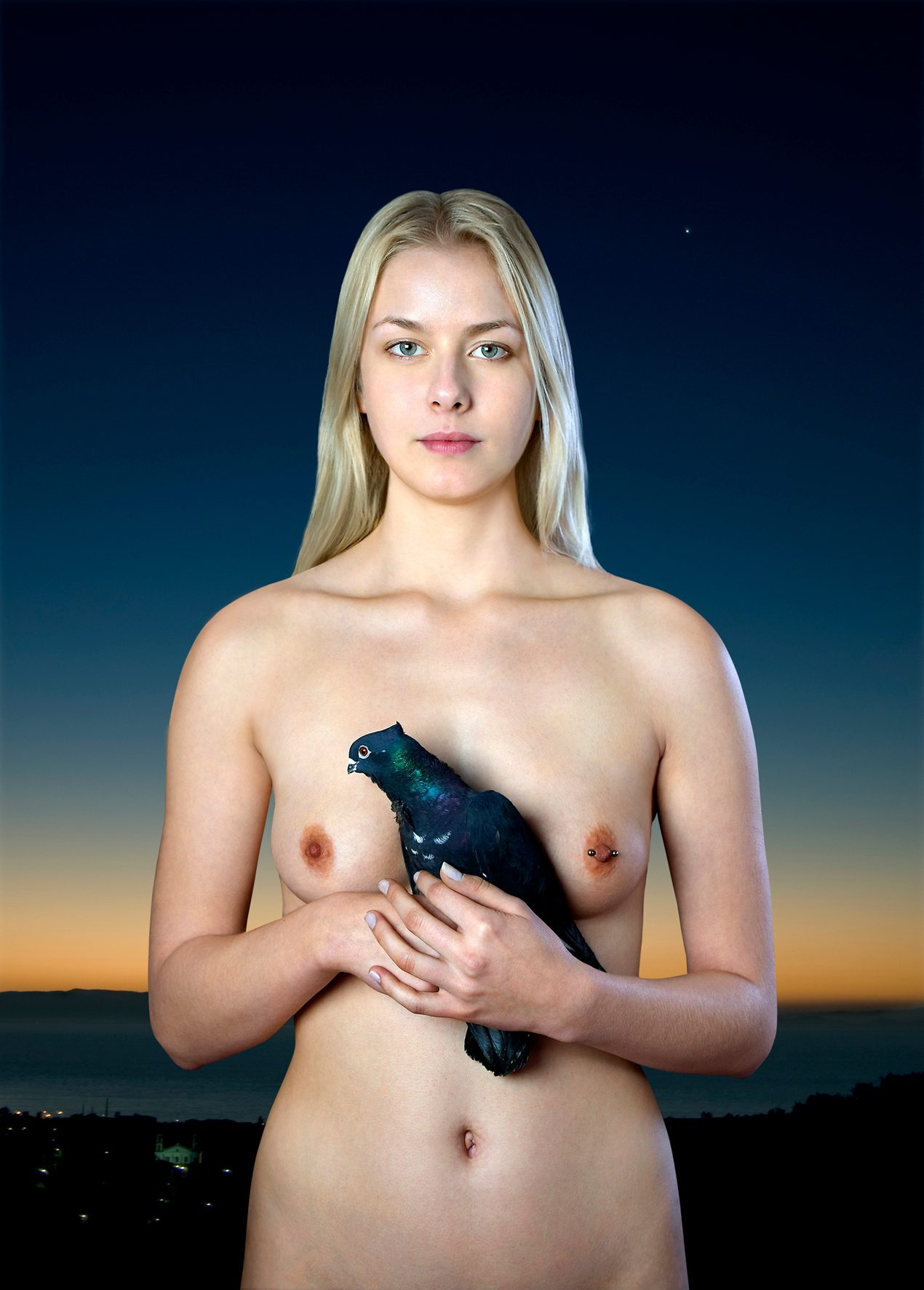 Untitled, For a Definition of The Nude Series (Woman w/ Bird)