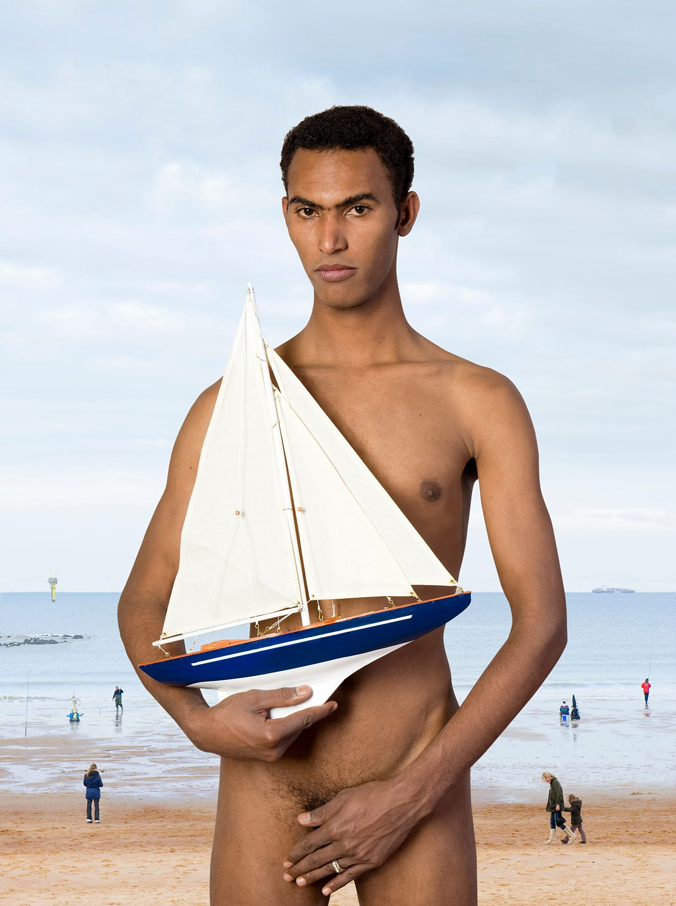 Untitled, For a Definition of The Nude Series (Man w/ Boat)