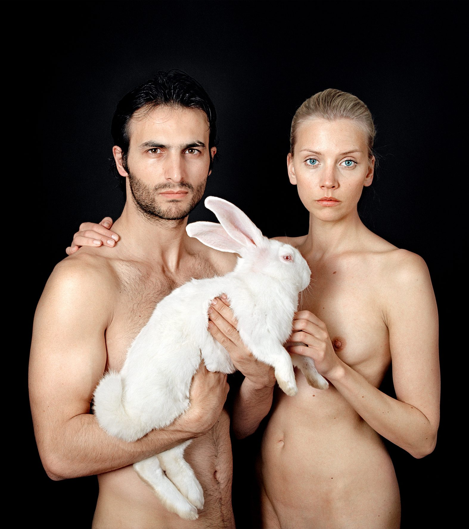 Untitled, For a Definition of The Nude Series (Couple w/ Rabbit)