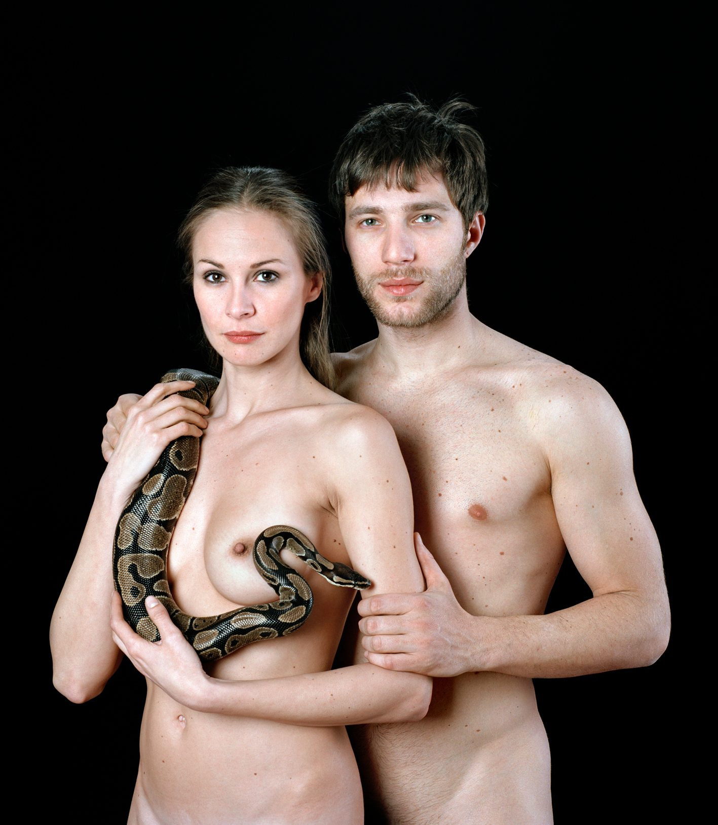 Untitled, For a Definition of The Nude Series (Couple w/ Snake)