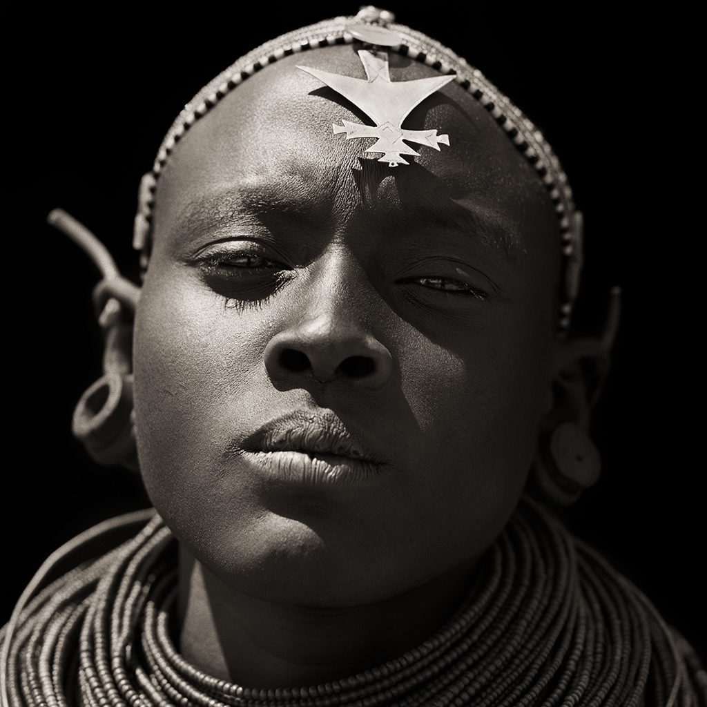 Samburu Girl, Kenya