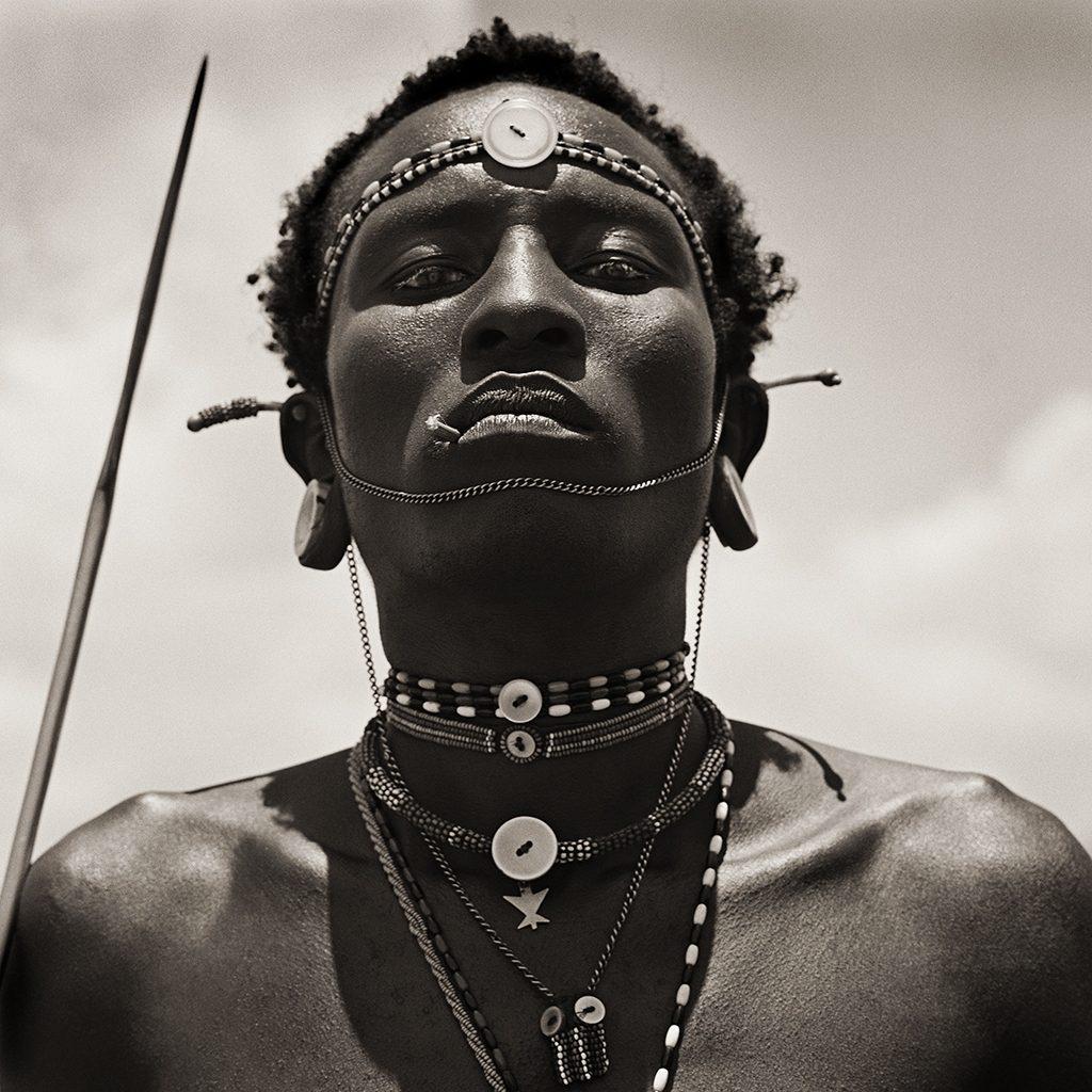 Masai Warrior Initiate, Kenya