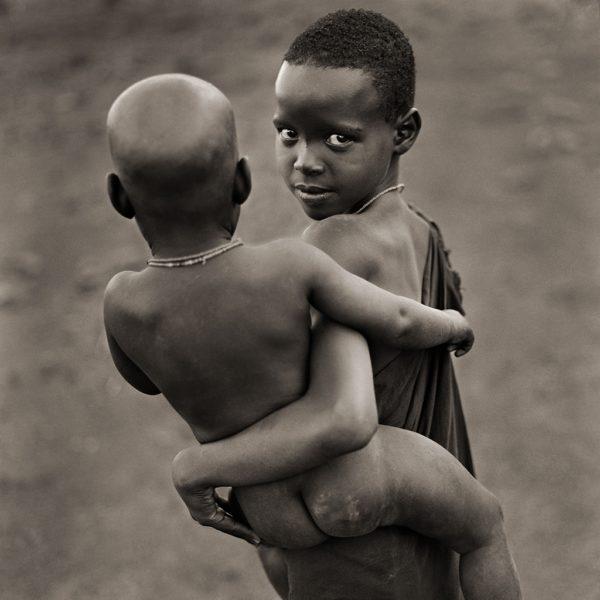 Njemps Sister and Brother, Kenya