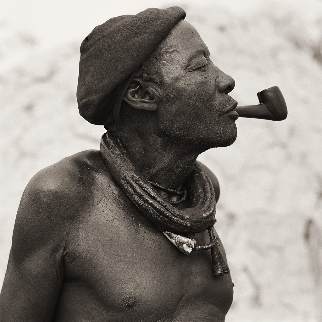 Himba Headman, Namibia